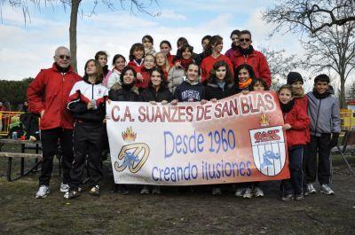 Equipo Cto. de Madrid de Campo a  Través por Clubes Móstoles