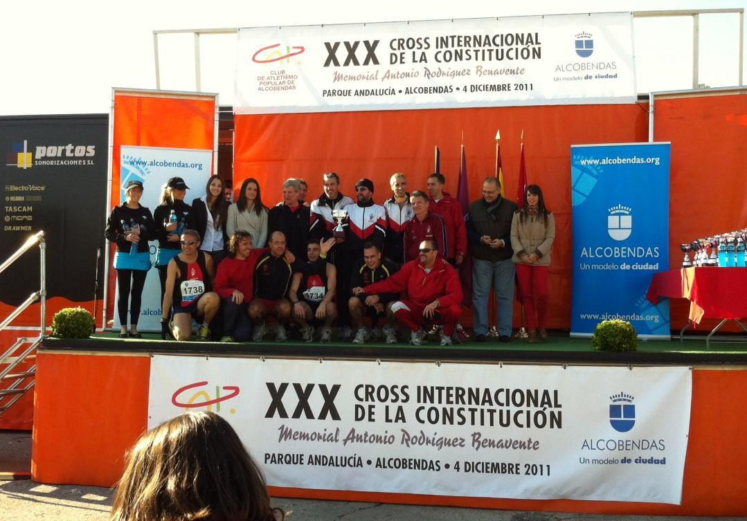 equipo veterano en Alcobendas