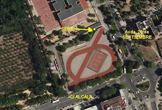mapa de la sede del club